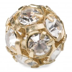 PRECIOSA CRYSTAL-BALL-Pack 5 GOLD PIECES MM12 sale online, best