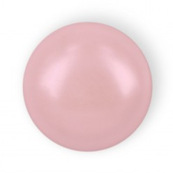 HALF ROUND BEADS MM6 LIGHT PINK HOT FIX-Pack of 144 sale