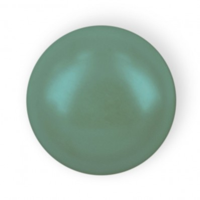 HALF ROUND BEADS MM6 GREEN HOT FIX-Pack of 144 sale online