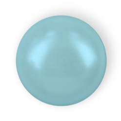 HALF ROUND BEADS MM6 LIGHT BLUE HOT FIX-Pack of 144 sale