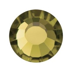 PRECIOSA THERMOADHESIVE SS20 (5 mm) GOLD BERYL-Pack of 144