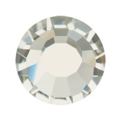 STRASS PRECIOSA THERMO-ADHÉSIFS SS30 (6.5MM) DIAMANT NOIR-144PZ