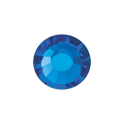 PRECIOSA THERMOADHESIVE SS30 (6, 5 mm) CAPRI BLUE-Pack of 144