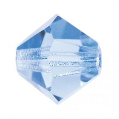 BICONE LIGHT SAPPHIRE-PRECIOSA MM5 Pack of 144 sale online