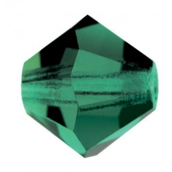 PRECIOSA BICONES MM5 GREEN TURMALINE-Pack of 144 sale online