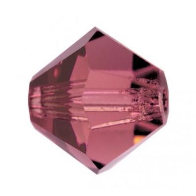 PRECIOSA BICONES MM5 LIGHT BURGUNDY-Pack of 144 sale online