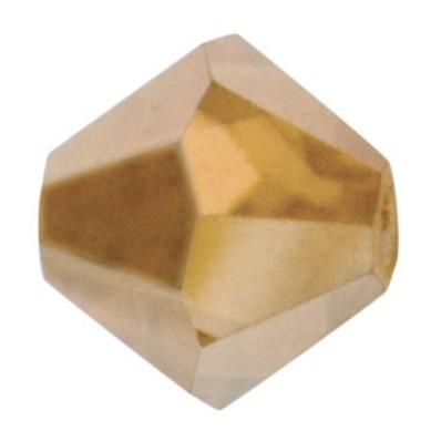 PRECIOSA BICONES MM5 GOLDEN FLARE-Pack of 144 sale online, best