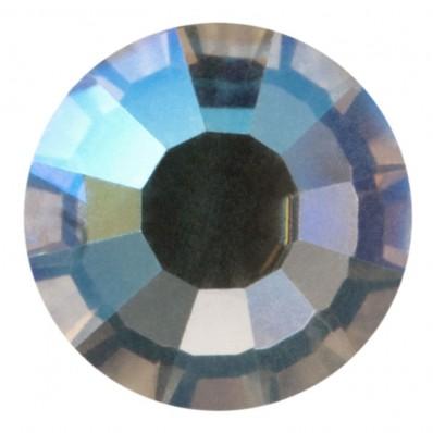 PRECIOSA THERMOADHESIVE SS16 (4 mm) BLACK DIAMOND AB-Pack of