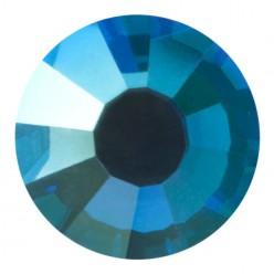 PRECIOSA THERMOADHESIVE SS16 (4 mm) CAPRI BLUE AB-Pack of 144