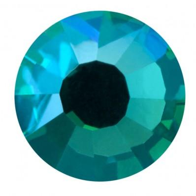 PRECIOSA THERMOADHESIVE SS16 BLUE ZIRCON AB (4 mm)-Pack of 144