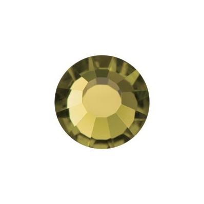 PRECIOSA THERMOADHESIVE SS10 (3 mm) GOLD BERYL-288PZ sale