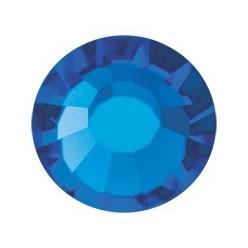 PRECIOSA THERMOADHESIVE SS16 (4 mm) CAPRI BLUE-Pack of 144