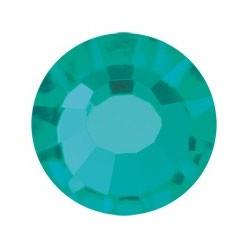 PRECIOSA THERMOADHESIVE SS16 (4 mm) BLUE ZIRCON-Pack of 144
