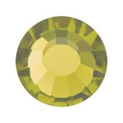 PRECIOSA THERMOADHESIVE SS16 (4 mm) OLIVINE-Pack of 144