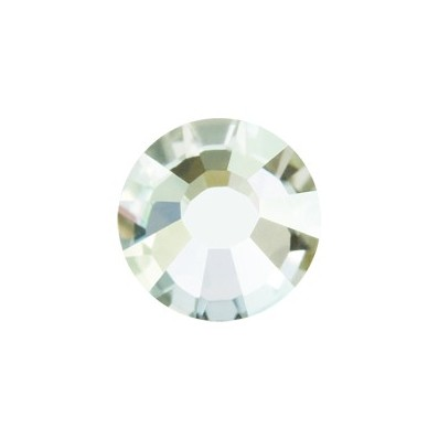 PRECIOSA THERMOADHESIVE SS16 (4 mm) ARGENT FLARE-Pack of 144