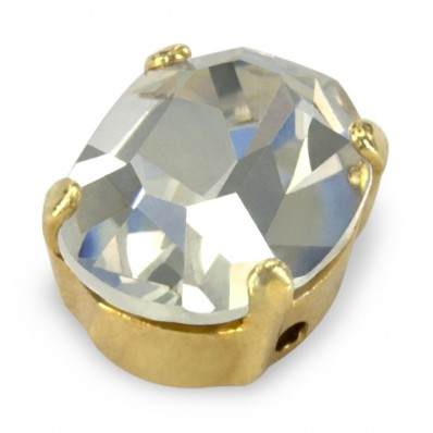 MM10x8 OVAL CRYSTAL-gold-3pcs sale online, best price
