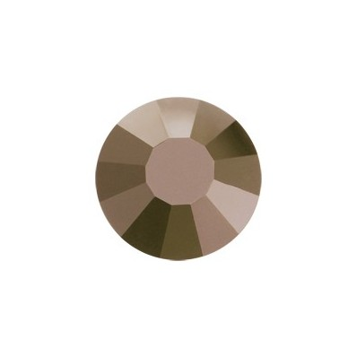 PRECIOSA THERMOADHESIVE SS16 (4 mm) BROWN FLARE-Pack of 144