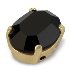 MM10x8 OVAL black-gold-3pcs sale online, best price